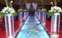 acrylic crystal garland wholesale - 66 FT Crystal Garland Strands Clear Acrylic Bead Chain Wedding Party Manzanita Tree Hanging Wedding Decorations supplies