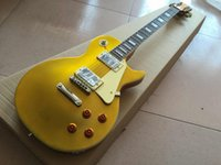 Wholesale New Arrival Hot Guitar G LP Standard Gold Top VOS Goldtop Electric Guitar