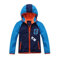 active decks - 2016 Brand Children Outerwear Sporty Kids Clothes Double deck Waterproof Windproof Boys Jackets For T Spring and Autumn