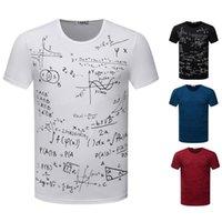 abstract tee shirts - New Abstract Formula T Shirts Men s T Shirt O Neck Short Sleeve Colors Sizes Fashion Tops Tees TX87 An