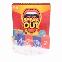best walmart - Speak Game Mouth Game Hasbro Speak Out walmart Game KTV Party Game Newest Best Selling Toy Christmas Gift