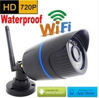 wireless wired ip camera - IP camera p HD wifi outdoor wateproof cctv security system surveillance mini wireless cam infrared P2P weatherproof mini home