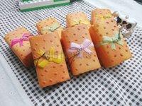 big breads - New PU10cm Bowknot bread toast Squishy Charm Squishy Charm bag peadant