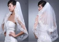 Wholesale 2016 New Arrival m Length White ivory Layer Bride Accessories Wedding Bridal Veils With Comb Cheap
