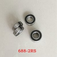 Wholesale 100pcs RS x16x5 miniature Rubber sealed bearings RS Thin wall deep groove ball bearing mm