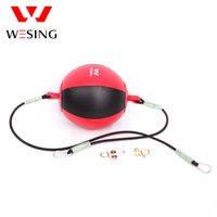 Wholesale WESING leather boxing speed ball gym equipment double end boxing ball