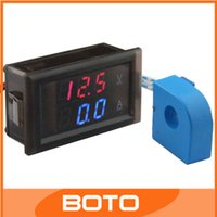 Wholesale Industry Voltage Current Measure Meter V Voltage A Current Double Measure Panel Meter Digital Volt Amp Meter
