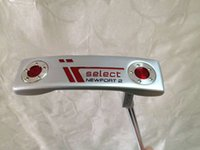 Wholesale 1PC New Select Newport2 Golf Putter inch With Steel shaft Golf clubs Silver Newport2 Putters Free headcover