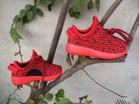 Wholesale new Children s Yeezi Boost Boost Kids Shoes Running Shoes Version Sports Shoes Fashion Children Athletic Running Shoes Size