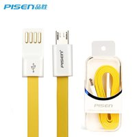 android zte case - Pisen Original M Micro USB Cable Data Sync Charger A Data Cable For Samsung S7 note Xiaomi Huawei HTC ZTE Android Device