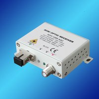 bandwidth converter - RDH R CATV MINI AGC FTTH OPTICAL RECEIVER FTTH Way output CATV AGC receiver with work bandwidth MHz AGC function