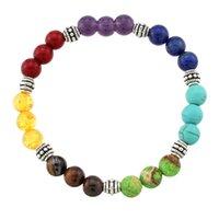 balance bracelete - New mm Tiger Eye Agate Stone Beads Chakra Healing Balance Bracelete Feminino Yoga Reiki Prayer Bead Bracelet for Men Women