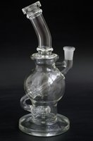 ball joint pipe - Clear Faberge Egg Ball Rig with Showerhead Perc inches mm Female Joint hookah Glass Water pipes