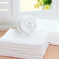 Wholesale Cotton Gauze Breathable Reusable Baby Diapers White Color