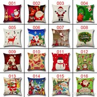 Wholesale 228 Design Fashion Pillow Case Pillow Covers Cute Case Home Decor Soft Pillowcase Throw Pillowcase Cushion Home Living Christmas Halloween