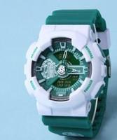 anime series watch - 11colors Anime Series one piece Latest model watch ga110 watch classic sports wristwatch relogio reloj de pulsera LED WATCH