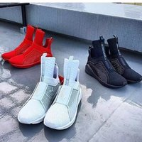 Wholesale X Rihanna Fenty Trainer High White red black Sport Pumas Fenty Women Sneakers Men running shoes with box