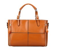 art briefcase - Fashion Patchwork Art Briefcase Style Plain Thread Pattern Synthetic Leather Top Handle Handbag For Women Ladies