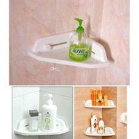 Wholesale Powerful Corner Tub Shelf Bathroom Shower Bath Storage Kitchen Sucker E00308 OST