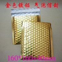 Wholesale Gold aluminum foil bubble envelope mailers cm metallic bubble bags