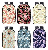 beautiful girl book - Fashion beautiful floral Bag Girls Backpacks Place A4 Books Comfortable Widening S Straps Patterns Durable Wear