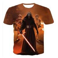 anime tshirts - JTOP Anime New Camisetas Hombre Novelty Star Wars Men T Shirts Tshirts D Print Tops O Neck Short Sleeve Male Funny Tees M xl