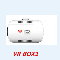 Wholesale VR Box1 VR Case Virtual reality D movies Games VR glasses for Android iphone IOS for inch smart phone VR Headset