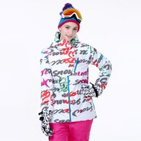 Wholesale Ski suits women s singles plate double plate ski clothing waterproof warm thick ski suits Ms Gsou Snow