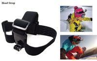 alloy camera straps - Tripod Accessories Tripods Gopro Hero Accessories Set Helmet Harness Chest Belt Head Mount Strap Go pro hero3 Hero4 Sj4000 Black