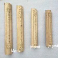 Wholesale Dongyang wood furniture fittings decals side column leg foot