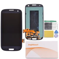galaxy s3 digitizer - LCD Display Screen Assembly frame for Samsung galaxy S3 Touch Screen Digitizer With LOGO For Samsung S3 i9300 i535 i747 T999 SAM874