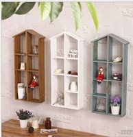 bathroom wooden flooring - 30 CM Wooden Home Products Sundries Storage Organizer Retro Storage Holders Display Rack Sundries Medicine Fleshy Flower Shelf