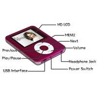 Wholesale Small Portable Radio Speaker - 6colors ipodNANO3 64G Mini Usb Port Slim Small Multi-lingual Selection 1.8 LCD Portable MP3Player , MP4Player , Video Player , Music Player