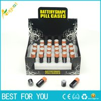 aa battery container - Hot sale stealth Stash Diversion Safe AA Battery Pill Box Hidden Container Case Gift New