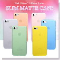 pp plastic case - 0 mm Ultra Thin Matte Frosted Clear Transparent Soft PP Cover Case For iPhone S Plus inch S S MOQ
