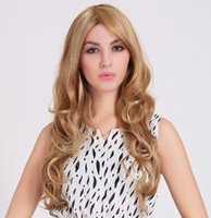 Wholesale European and American fashion female models female long hair wig