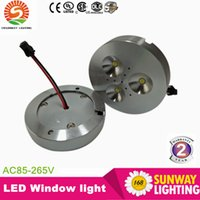 aluminum display cabinet - UL Spotlights Latest Price Promption CREE W Dimmable Warm Pure Cold White AC110V AC220V AC230V LED Puck Light for cabinet or display box