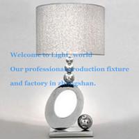 Wholesale Creative Stylish Luxury Bedroom Bedside Table Lamp Minimalist Living Room Restaurant Study Decoration Lighting