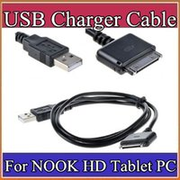 Cheap High quality 3.3ft Replacement USB Data Charger Cable Cord For Barnes Noble Nook HD 7 Tablet A-PS