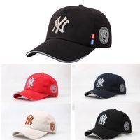 Wholesale 5 Color Yankees Hip Hop MLB Snapback Baseball Caps NY Hats MLB Unisex Sports New York Adjustable Bone Women casquette Men Casual headware