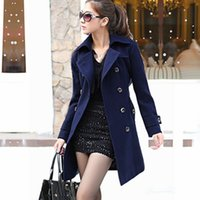 b wool coat - Hot sales women s coat with a high quality large size XXXL long short winter wool double breasted jacket b
