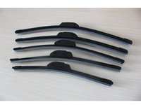 Wholesale 10xWholesale price top quality Car Wiper Blade Natural Rubber Car Wiper auto soft windshield wiper any size choice in
