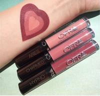 aries color - 2016 OFRA Liquid Lipsticks long lasting lip gloss Manny MUA X Ofra makeup lipgloss Aries charmed hypno high quality
