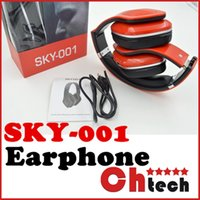 apples computer box - SKY Bluetooth Headset Wireless Earphone TF Card Handsfree Colorful Mobile Computer Music Micro Stereo Headphone With Retail box