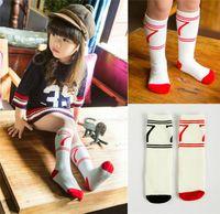 best baby clothes brands - Best Socks Children Clothes Korean Baby Sock Cartoon characters cotton Spring Autumn Crochet Socks Girls Knit mid calf length socks