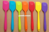 Wholesale Wedding Candy Cake Spatula Batter Colorful Silicone Batter Scraper Cake Pilisher For Snowflake High Quality Cake Tools Bakeware