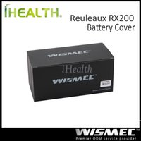 options - Wismec Replaceable Front and Back Cover for Reuleaux RX200 Reuleaux RX200S Mod Original Color Options