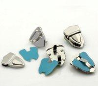 Wholesale 2x10 Sets Silver Tone Buckles Purse Snap Clasps Closure Purse Handbag x3cm purse handbag handbag supplier