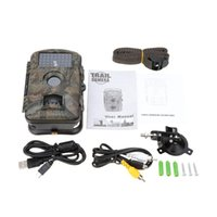 Wholesale 12MP HD Digital Trail Camera NM IR LED Night Vision Video Recorder Portable Infrared Scouting Wildlife Hunting Camera