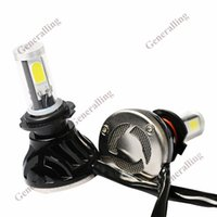 Wholesale H7 COB Car Led Car Auto Headlight Bulb V k W Automotive Lamps For Automobiles